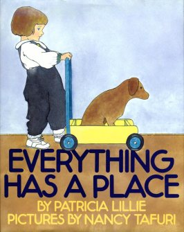 Illustrated by Nancy Tafuri. In the best of all possible worlds, everything has a warm and cozy place: a cow in a barn, a cat in a chair, and where's the baby? On a lap, of course! A warm and reassuring read-aloud for the youngest listener. Greenwillow Books/William Morrow 1993.