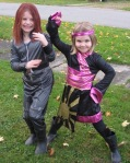 Black Widow and Super Dragon Ninja Warrior. Do not mess with them.