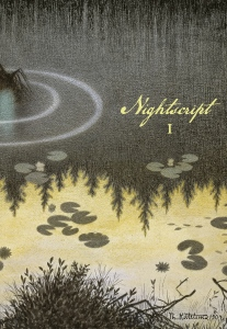 "Cover image from ""Nøkken"" (1904) by Theodor Kittelsen."